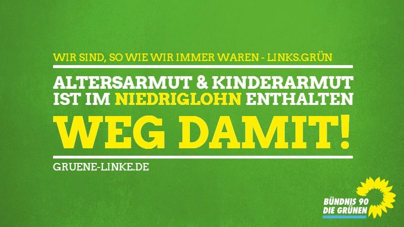 Plakate Und FlyerGrüne Linke